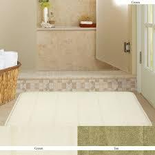bathroom com mohawk home memory foam cream bath rug inch by bathroom rugs peachbathroom