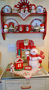 Christmas Decorations For Kitchen 17 Best Ideas About Christmas Kitchen Decorations On Pinterest