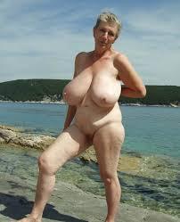 Granny natural big tits