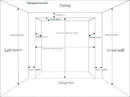 standard garage door height interior door height standard garage door height width j interior design dimensions