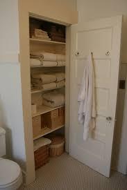 diy linen closet door