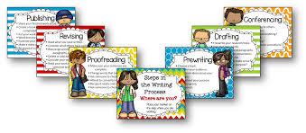 Writing Process Clip Chart The Teachers Desk 6 Make Your Masterpiece