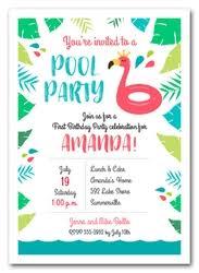 Pool Invitations Pool Party Invitations Swim Invitations