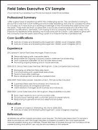 Sale Executive Resume Sample Free Sales Executive Resume Sample