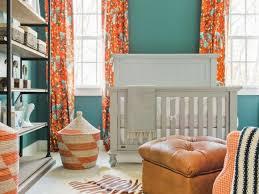 Orange Curtains Living Room Orange Curtains Contemporary Living Room Elle Decor Regarding