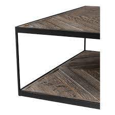 Weathered Oak Furniture Eichholtz La Varenne Square Coffee Table Weathered Oak Houseology