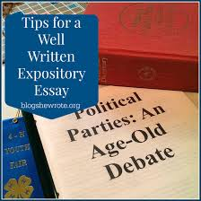 tips for a well written expository essay blog she wrote what is an expository essay