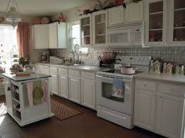 kitchens with white appliances and white cabinets. Cottage Charm. View In Gallery. White Cupboards Kitchens With Appliances And Cabinets Homedit