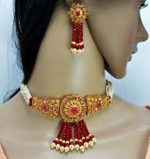 jewelry palace red onyx bead gold