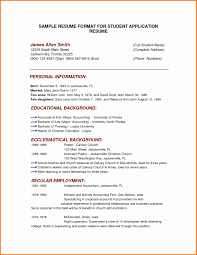 Sample Of Simple Resume Format Best Of Cover Letter Resume