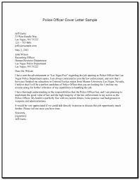 Cover Letter For Police Officer Cover Letter Police Ficer Resume