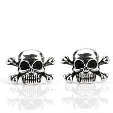 Skeleton <b>925 Sterling Silver Vintage</b> Earrings – Coooolstuff