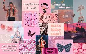 Pink Aesthetic Background Laptop / Pink ...