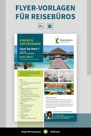 Add or replace pictures, change colors, move, scale and crop graphic elements, change the fonts and replace the filler text with your own copy. Flyer Vorlagen Fur Reiseburos Aushang Zur Schaufensterwerbung Flyer Vorlage Flyer Reiseburo