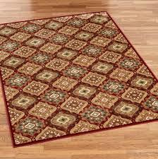 moorish tile rug bronze