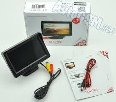 <b>Монитор Slimtec</b> SM-4.3 - 4.3-дюймовый дисплей, два ...