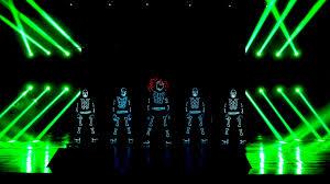 Tron Dance Lights Tron Dance An Amazing Led Dance Performance Skeleton