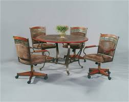 kitchen chairs with casters kitchen sets with wheels dinette chairs casters plan table caster