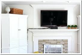 hiding tv wires over fireplace how to hide flat screen cords and wires hiding tv wires fireplace