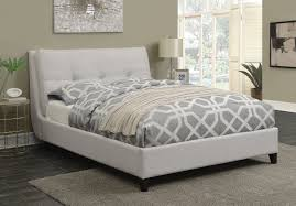 Coaster Amador Upholstered California King Platform Bed with Pillow ...