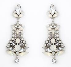 jude crystal opal chandelier earrings