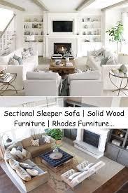 sectional sleeper sofa solid wood