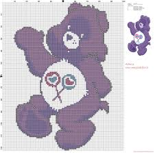 Share Bear Care Bears Cross Stitch Pattern Free Cross