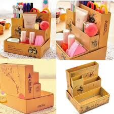 makeup box storage diy. hot sale paper board storage box desk decor stationery diy makeup cosmetic organizer new online with $2.88/piece on laowang1769\u0027s store | dhgate.com diy g