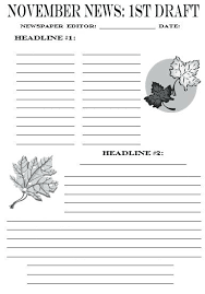 Newspaper Story Template Writing A News Story Template Report Newspaper Article Shiftevents Co