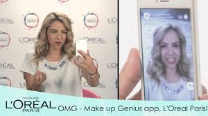make up genius το πρώτο live make up app από τη l oreal paris you