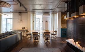Apartment Remodel Makes Full Use Of Local Resources - Industrial apartment