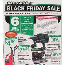 Menards Black Friday Ad for 2012