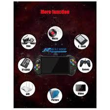 Máy Chơi Game Cầm Tay X15 Hệ Điều Hành Android 7.0 Hỗ Trợ Full game  PSP/PS1/N64 Cân God Of War/PUBG Màn Hình Cảm Ứng chính hãng 2,450,000đ