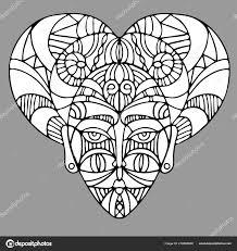 Dekorativní Prvky Etnickém Stylu Motivy Pro Tetování Vektorové