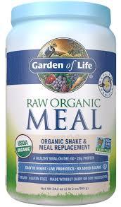 3 garden of life raw meal shake