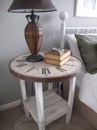diy furniture makeover ideas. DIY Clock Table. 17 Unbelievable Furniture Makeover Ideas Diy A