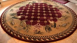 round area rugs target rooster
