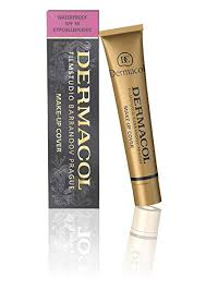 amazon dermacol make up cover foundation 30g 210 makeup beauty