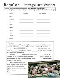 Regular And Irregular Verbs Worksheet Free Worksheets Library ...