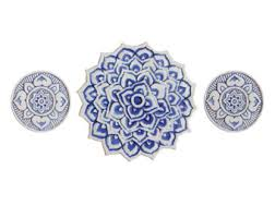 Blue And White Decorative Tiles Moroccan ceramic tile Decorative tile with moroccan design 92