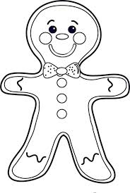 Small Picture Cheeky Mr Gingerbread Men on Christmas Coloring Page Download