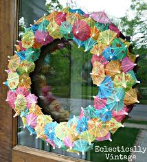 summer wreaths for front door10 DIY Summer Wreath and Banner Ideas for Your Home  The Bright