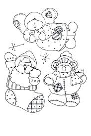 Christmas Fun Templates Coloring Role Models
