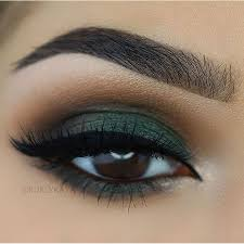beautiful brown eyes with green eyeshadow makeup face makeup in 2018 eye makeup makeup eyeshadow makeup