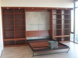 murphy bed with cabinetry modern
