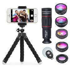APEXEL <b>8 in 1</b> Camera Lens Including 18x Telephoto: Amazon.in ...