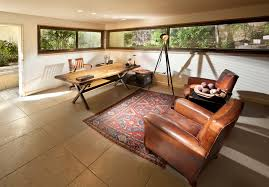 custom made office desks. reclaimed wood desk home office contemporary with area rug corner windows custom made desks