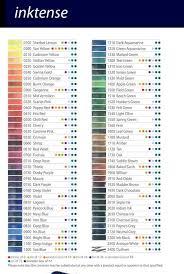 Chart Prismacolor Verithin Colors Colored S Rhpinterestcom