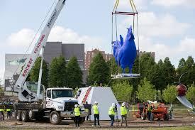 minneapolis sculpture garden ready to reopen minus the controversial scaffold
