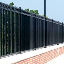 metal fence styles. Solid Iron Fencing Galvanized Steel Pickets Aluminum Intended For Fence Idea 10 Metal Styles